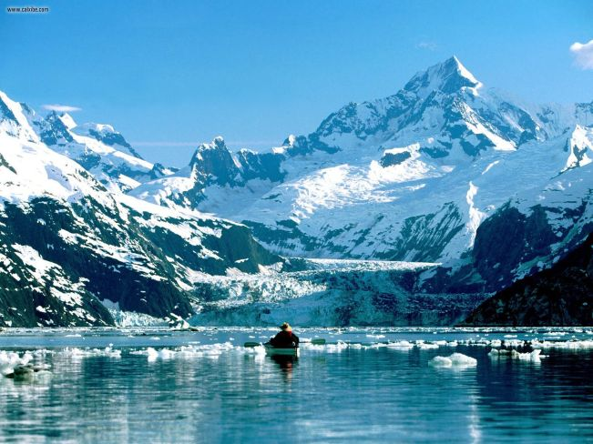 Kayaking in Glacier Bay in Alaska is one of my travel plans for 2015