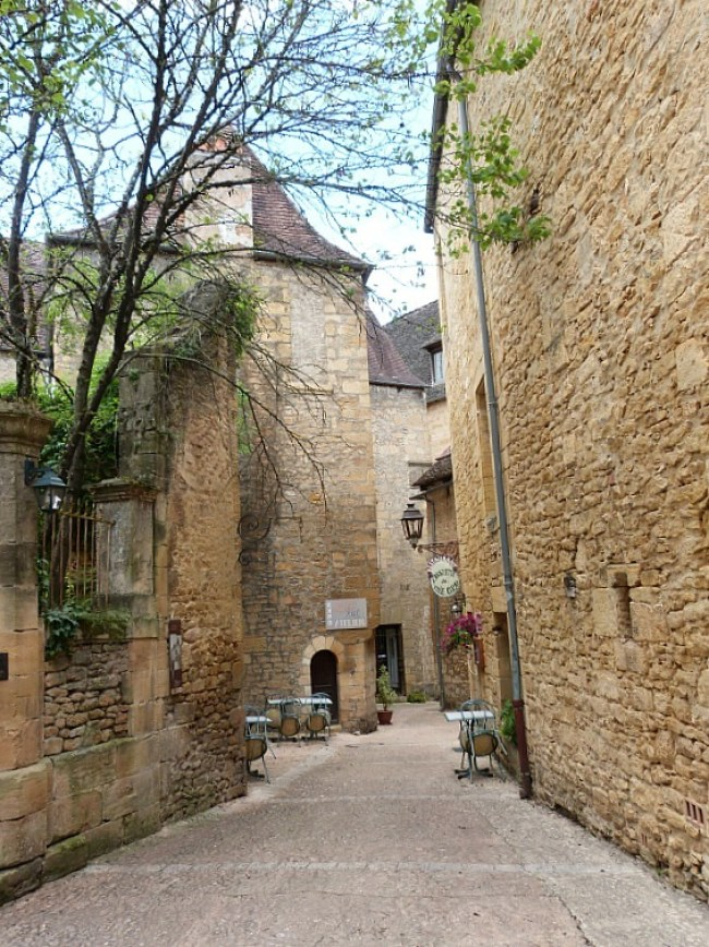 Sarlat-la-Canéda in the Dordogne Region of France