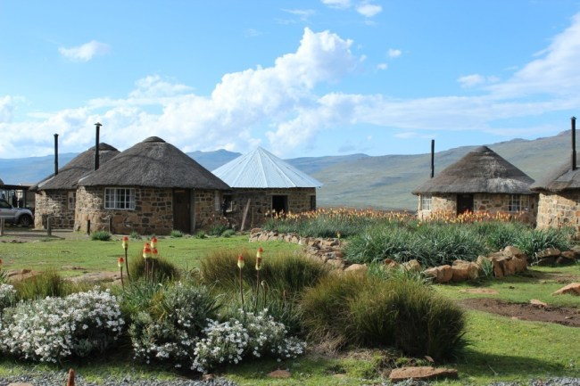 Village of Sani Top in Lesotho