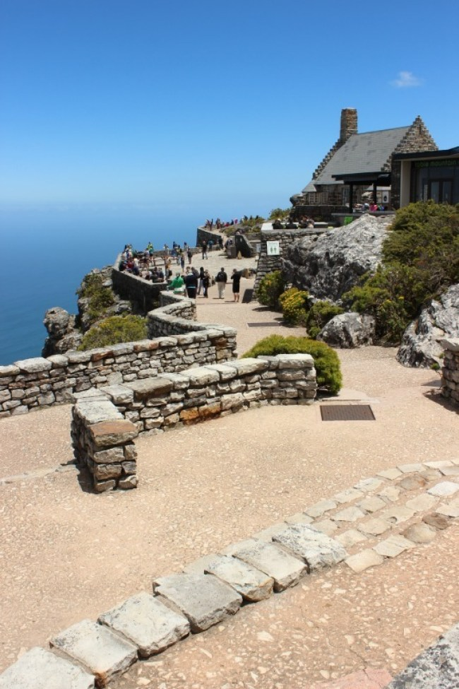 Views from the top of Table Mountain in Cape Town