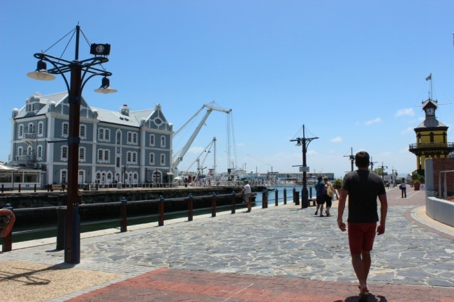 Wandering the V&A Waterfront in Cape Town, South Africa