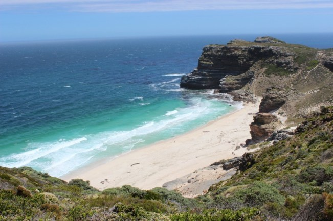 Beautiful beach at Cape Point - one of the best places to visit in Cape Town