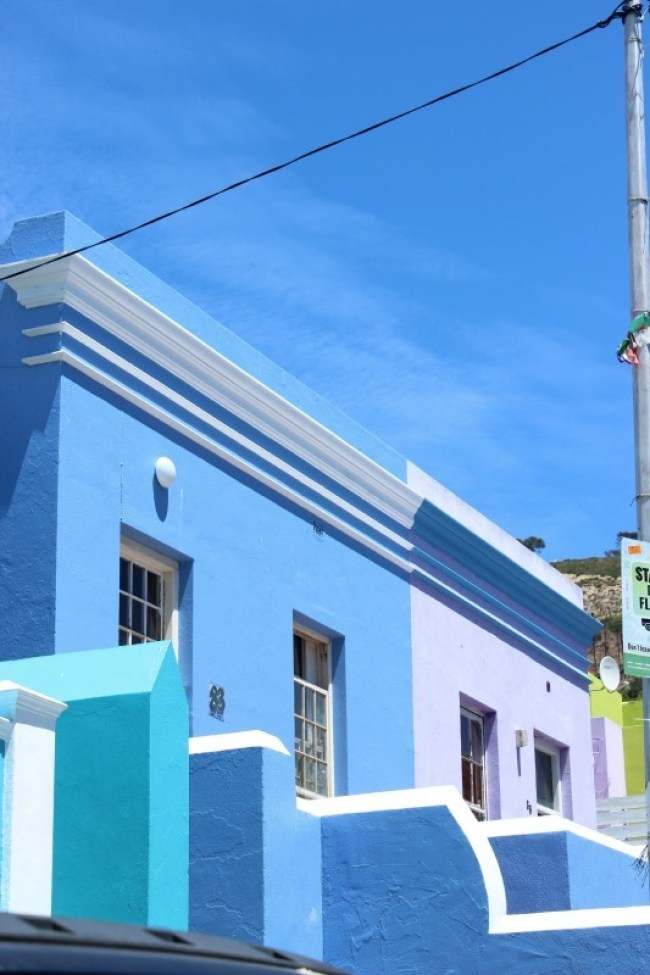 Exploring colourful Bo Kaap in Cape Town - one of the best places to visit in Cape Town
