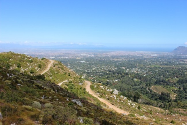Amazing views while hiking around Cape Town's Mountains