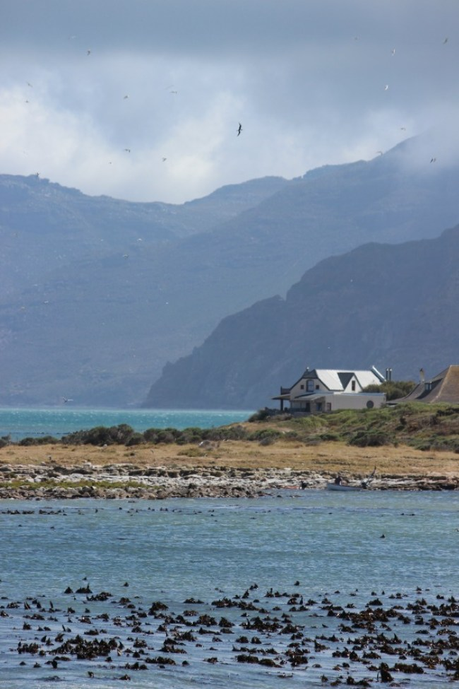Lovely Kommetjie on the Cape Peninsula in South Africa