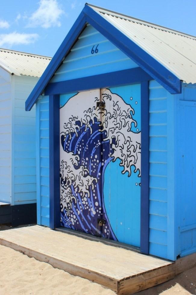Colorful beach huts at Brighton Beach in Melbourne, Australia