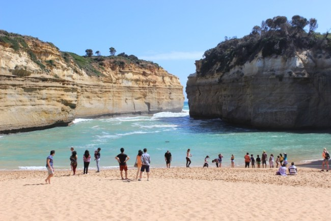 Beautiful day on the Great Ocean Road