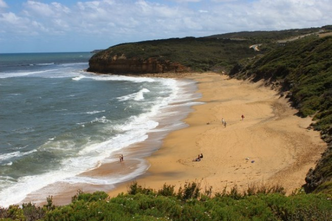 Bell's Beach on the Great Ocean Road