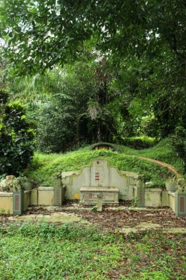 Bukit Brown Cemetery in Singapore