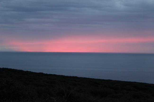 Cape Borda Sunset on Kangaroo Island