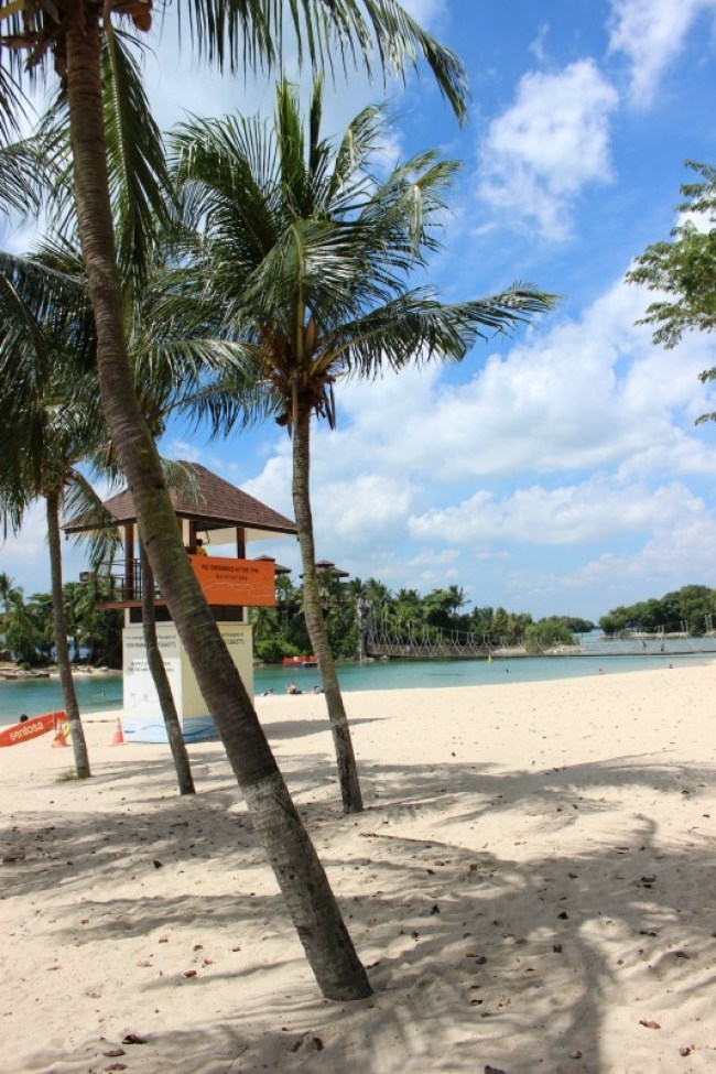 Palawan Beach, Sentosa Beach in Singapore