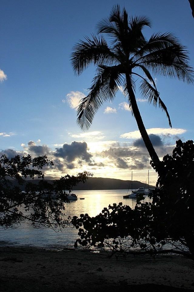 Evening at Fitzroy Island Resort