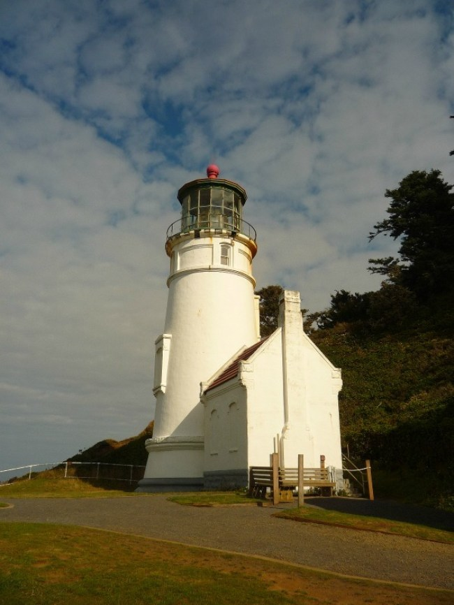 Heceta Head Light in Oregon