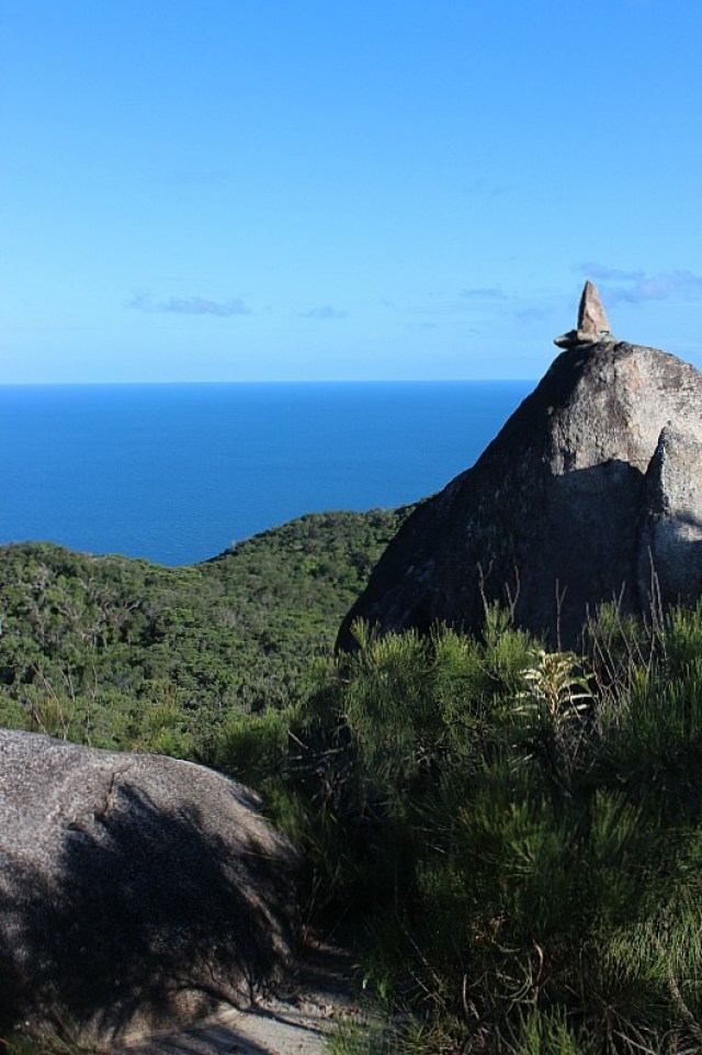 Incredible views from Summit of Fitzroy Island