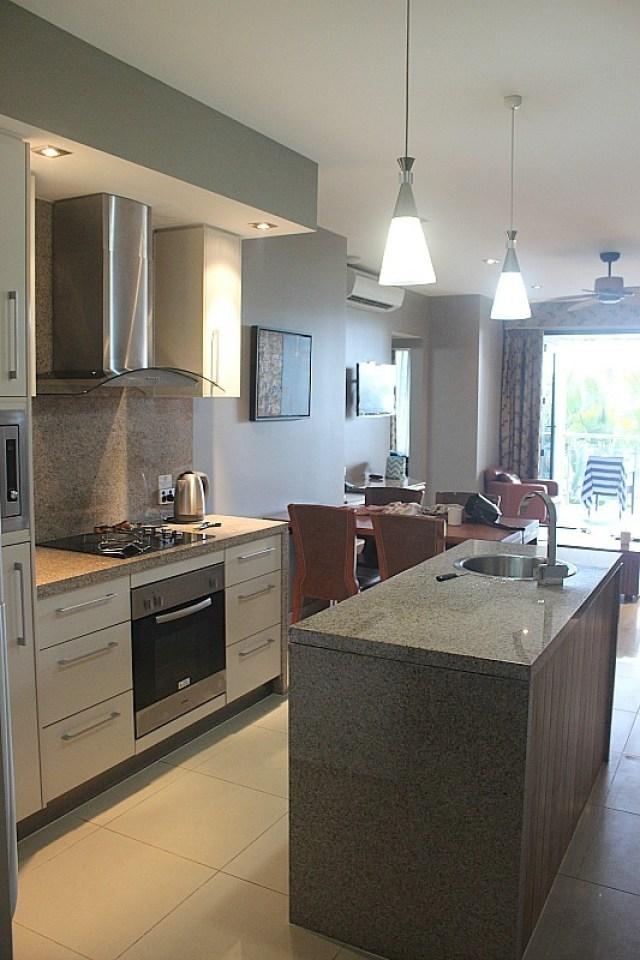 Kitchen in Fitzroy Island Suite at Fitzroy Island Resort