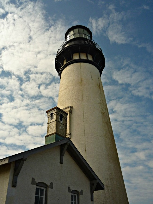 Yaquina Head Light in Oregon - one of my favorite lighthouses