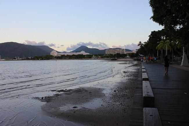 Walking Cains Esplanade