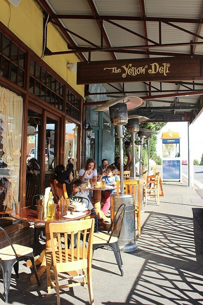 Yellow Deli in Katoomba, Blue Mountains