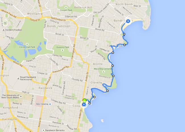 Coogee to Bondi Walk - one of the best Sydney walks