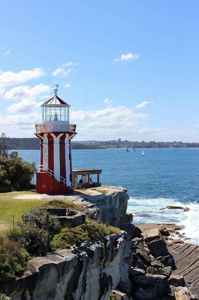 Hornby Light walk - one of the best Sydney walks