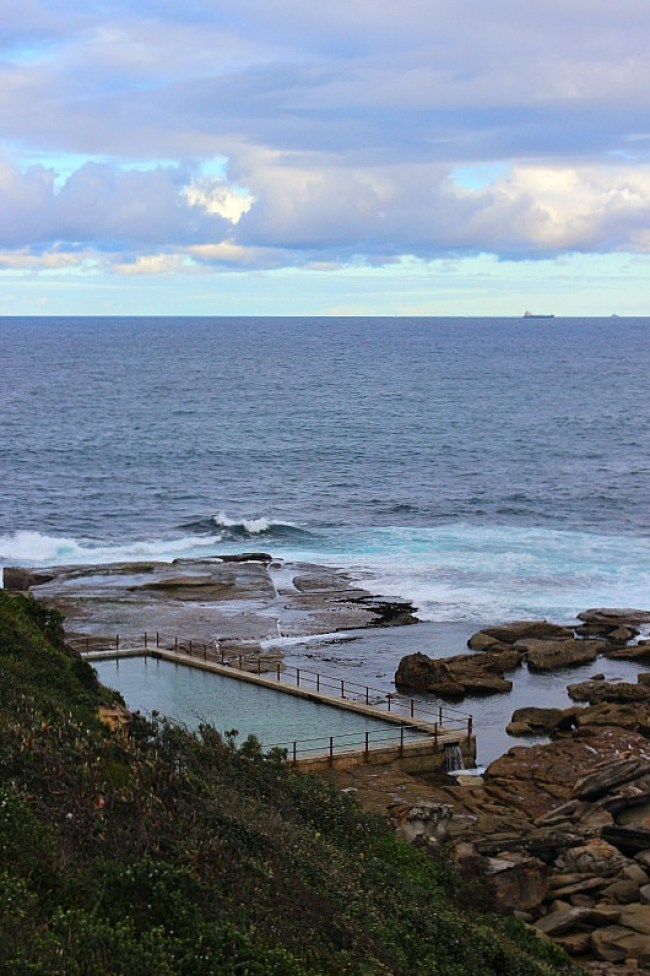 Pool at North Curl Curl on the Dee Why to Manly walk - one of the best Sydney walks