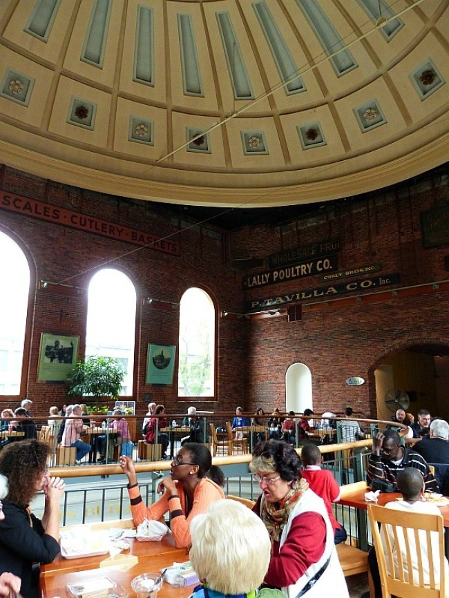 Visiting Quincy Market for lunch should be part of any good Boston Itinerary