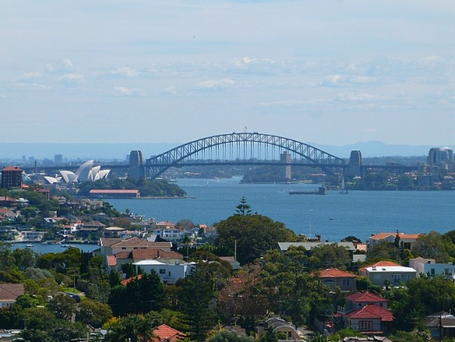 View from Dover Heights to City on walk to Watsons Bay - one of best Sydney walks