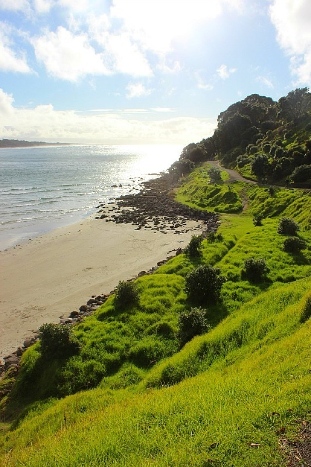 Walking around the Mount - one of the reasons I am going back home to New Zealand