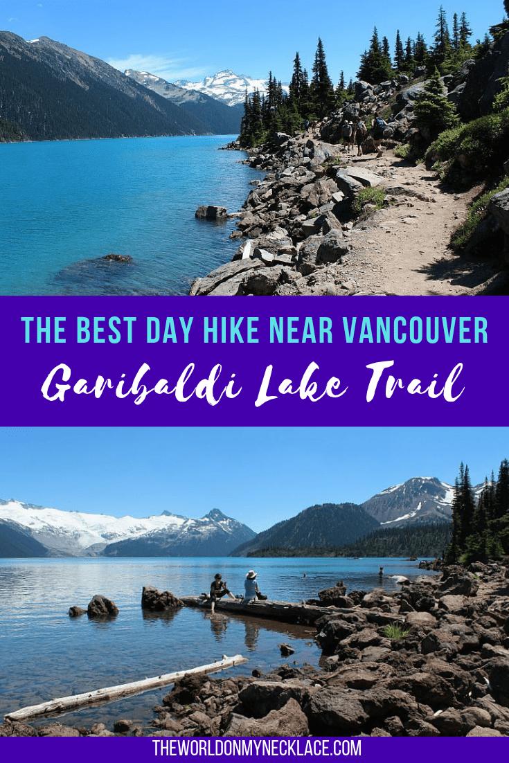 Hiking the Garibaldi Lake Trail near Vancouver