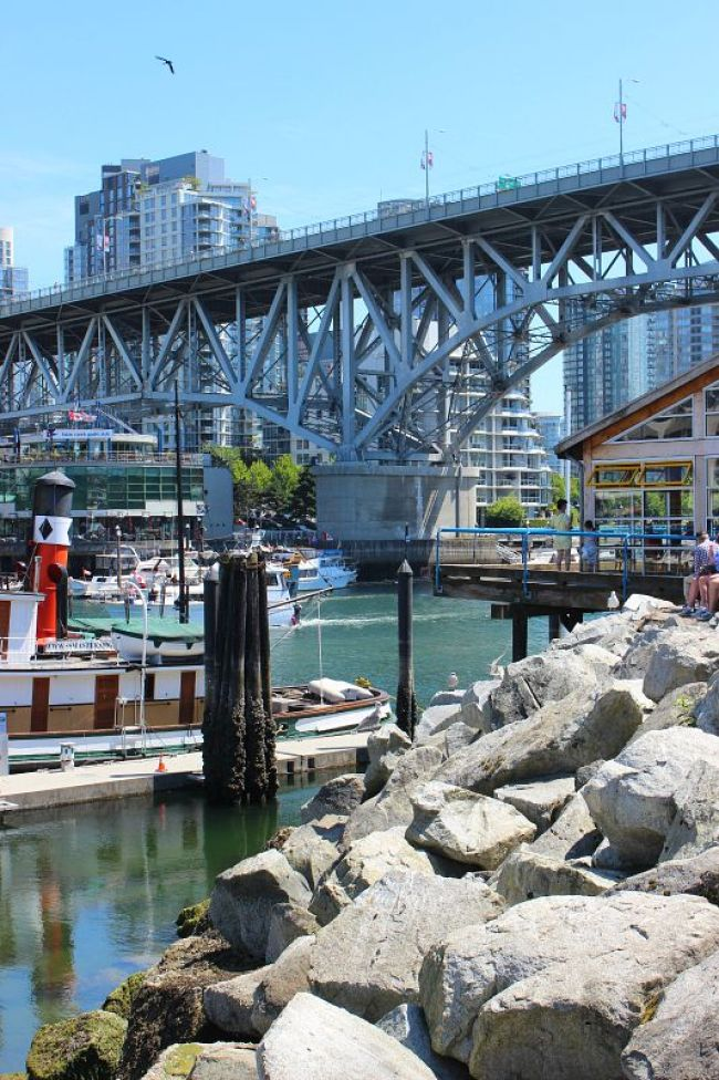 The Best Vancouver Itinerary: 4 Days in Summer. A morning out at Granville Island Market during summer in Vancouver
