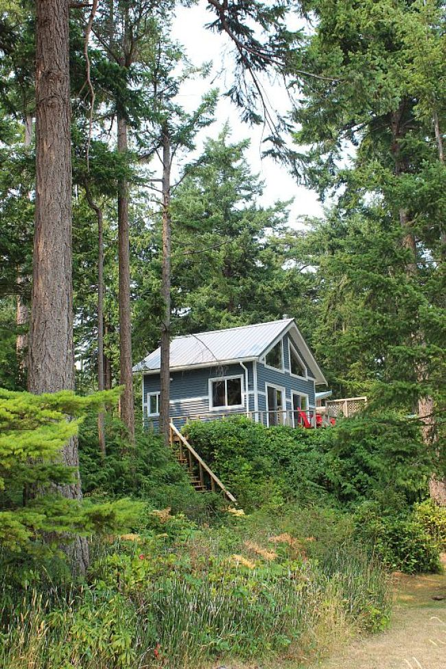 Hornby Island cabin