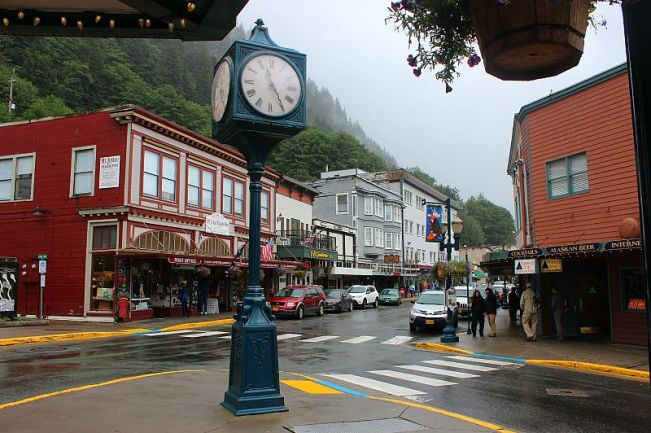 Wet Juneau, Alaska during month two of digital nomad life