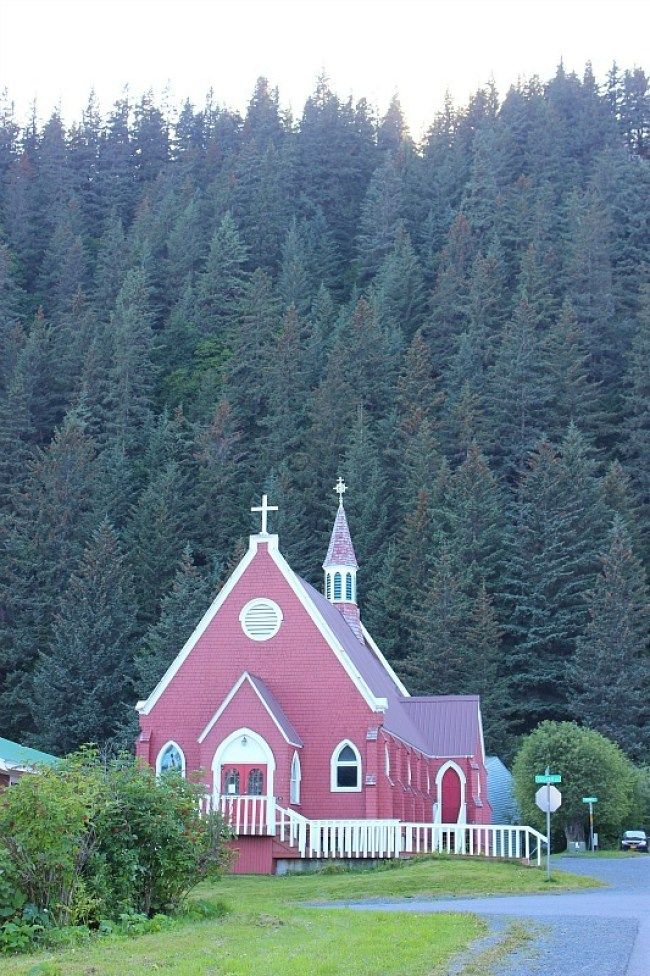 Church in Seward Alaska