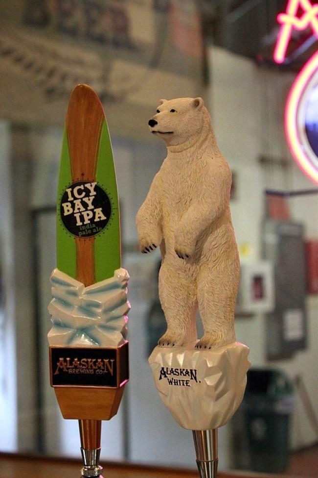 Alaskan Brewing Company - a great activity in Juneau in the rain