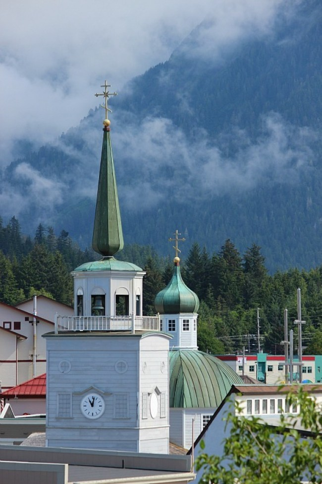 Cathedral of St Michael in Sitka Alaska