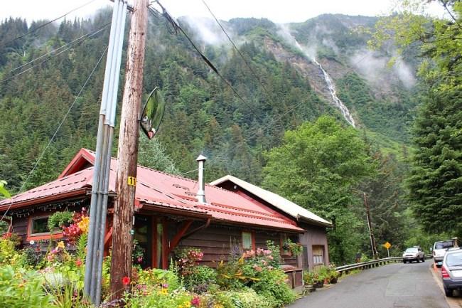 Juneau Alaska back streets