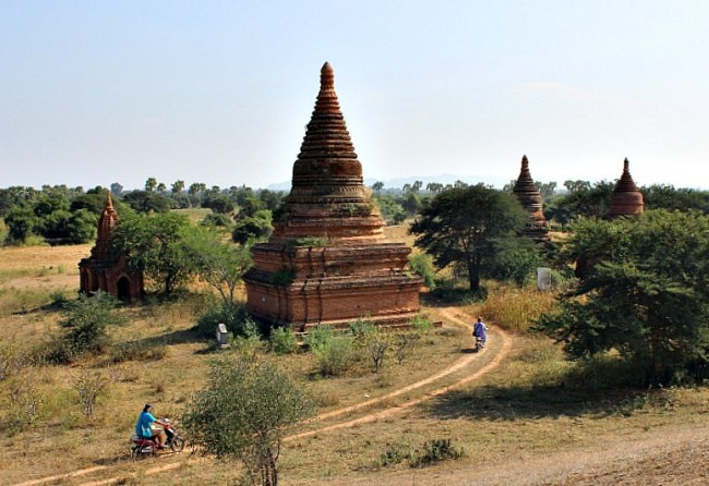 Exploring the temples of Bagan during month six of digital nomad life