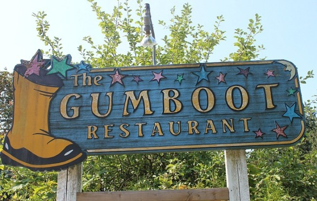 The Gumboot Restaurant in Roberts Creek on the Sunshine Coast BC