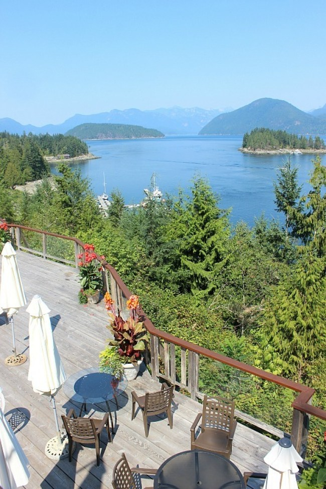 West Coast Wilderness Resort on the Sunshine Coast BC