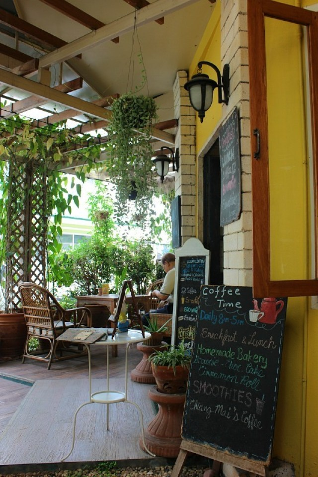 Chiang Mai, Thailand cafe