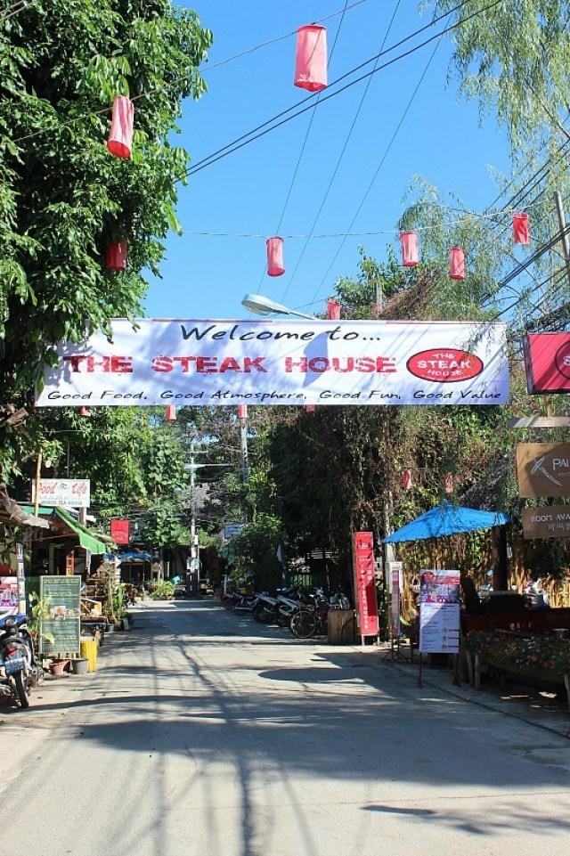 Downtown Pai, Thailand
