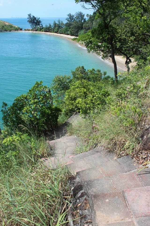Hiking in Koh Lanta National Park