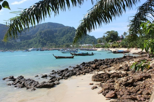 Ko Phi Phi Don beach, one of the stops on our Koh Phi Phi Island Tour