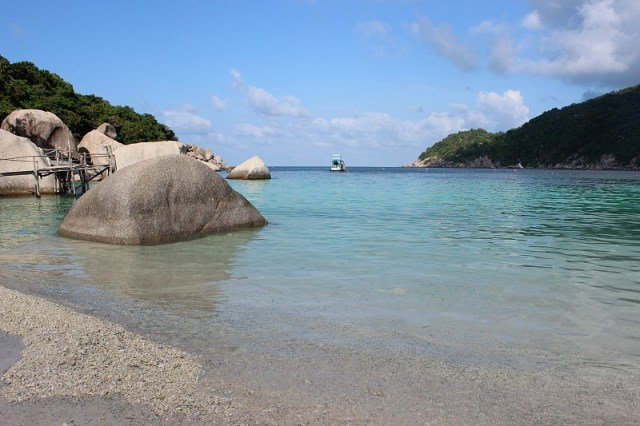 Beautiful Ko Nang Yuan - a day trip from Koh Tao