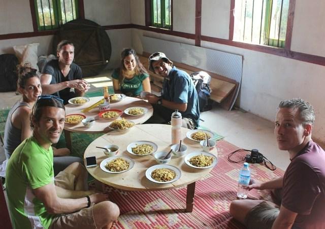 Lunch - Trekking Kalaw to Inle Lake
