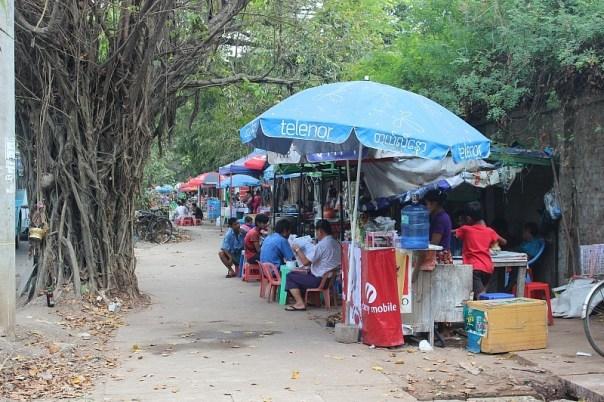 Yangon street food