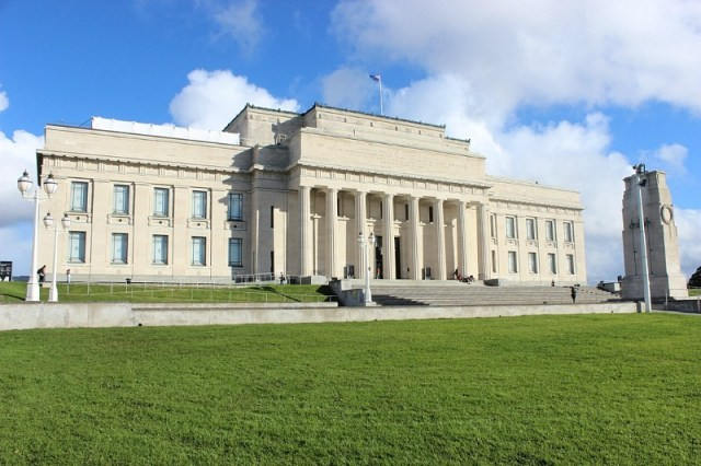 Auckland War Memorial Museum, visited during month 14 of digital nomad life - The World on my Necklace