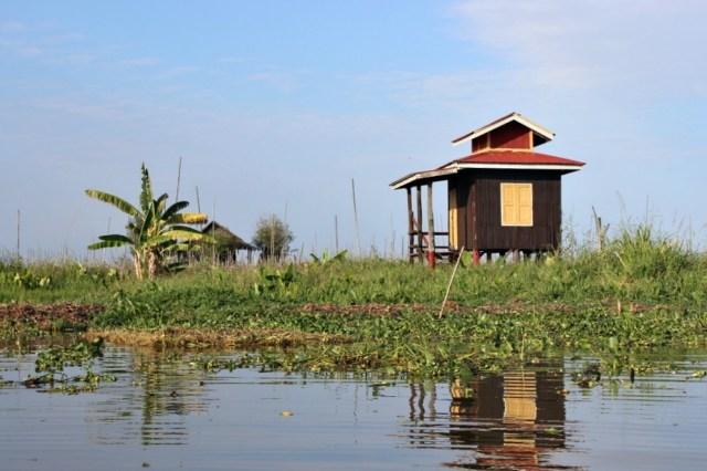 Inle Lake hut