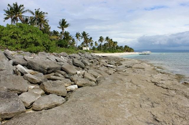 rocky-end-of Kalanggaman Island