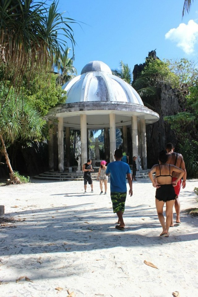 Stop on the El Nido island hopping tour